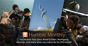 Monthly Subscription Humble Bundle April 2019