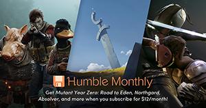 Monthly Subscription Humble Bundle April 2019